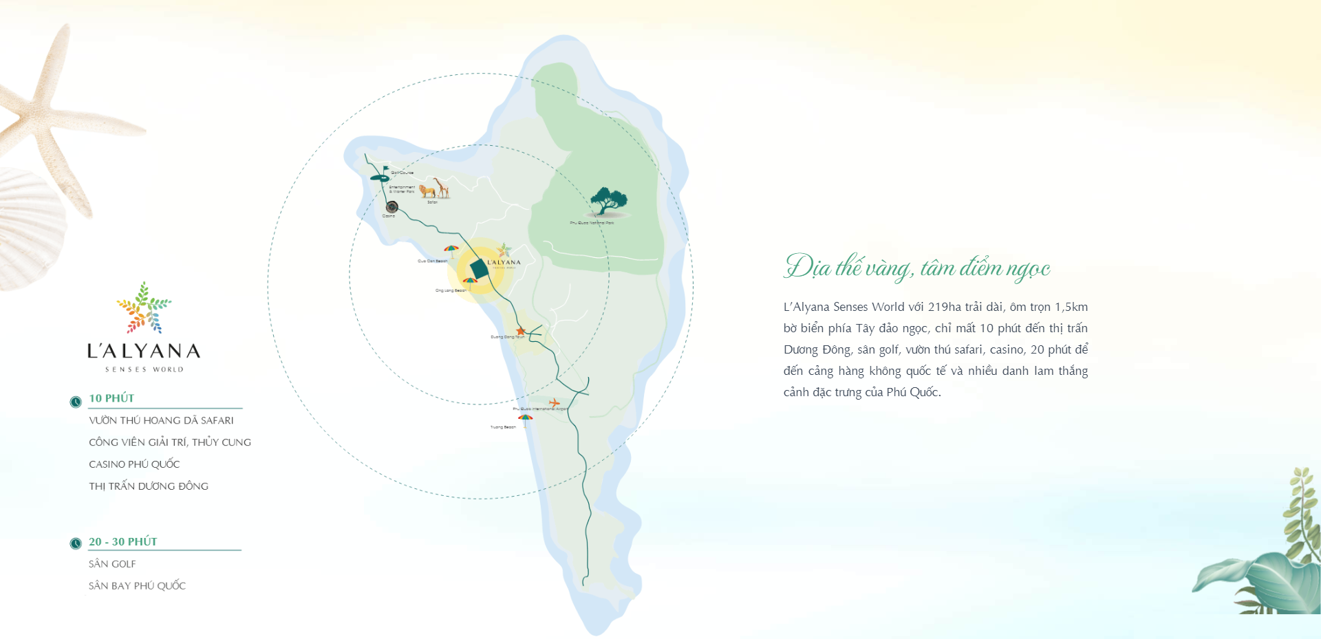 Dự án Biệt thự Furama Resort & Spa – L'Alyana Senses World Phú Quốc