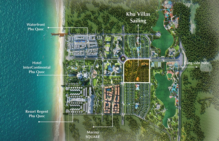Dự án Biệt thự Palm Garden Shop Villas Phú Quốc – Phú Quốc Marina
