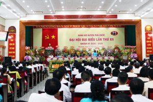 Đề nghị thành lập thành phố Phú Quốc tại Đại hội đại biểu huyện lần thứ XII