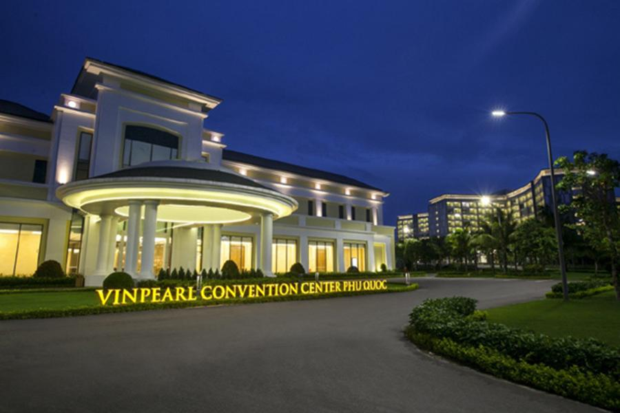 Trung tâm hội nghị Vinpearl Convention Center có quy mô lớn nhất đảo