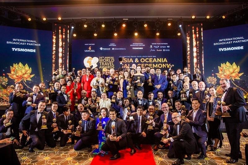 Gala trao giải du lịch thế giới khu vực châu Á – Thái Bình Dương – World Travel Awards 2019
