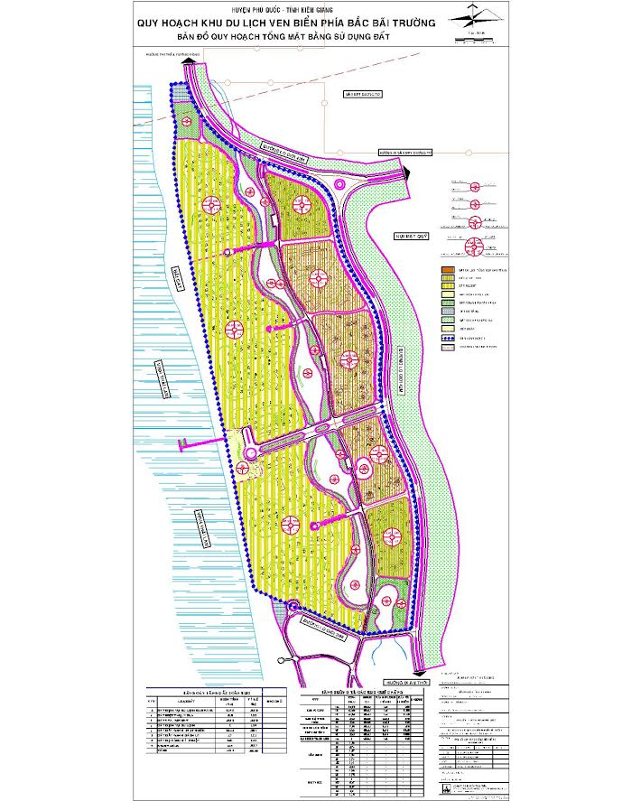 Bản đồ quy hoạch Bãi Trường - Phú Quốc