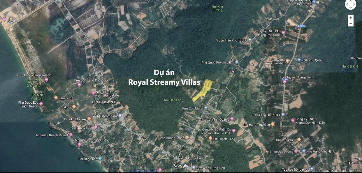 Royal Streamy Villas Phú Quốc. Sổ đỏ chính chủ, đầy đủ tiện ích