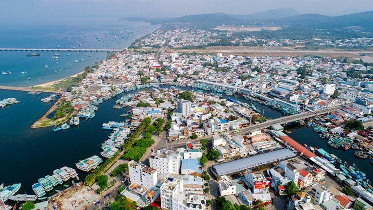 Phú Quốc đang tiến nhanh mục tiêu trở thành thành phố biển đảo đầu tiên của Việt Nam