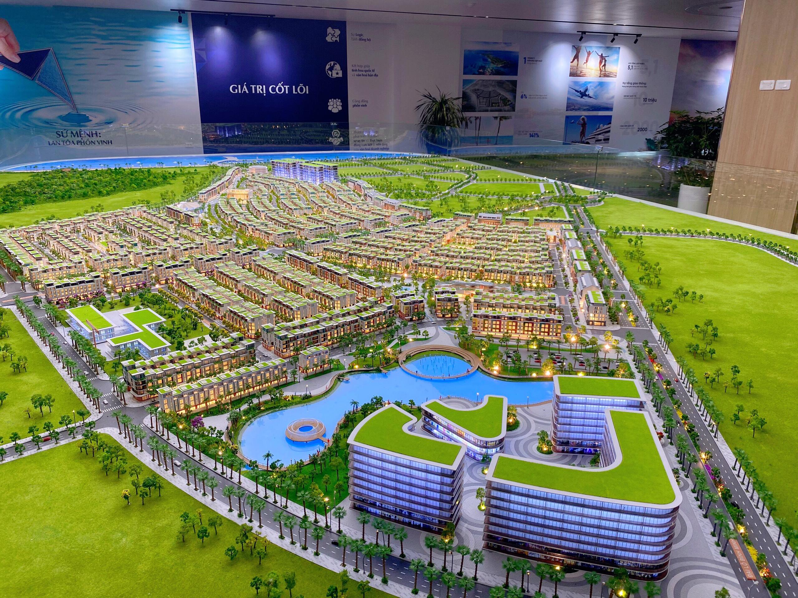 Toàn cảnh dự án Meyhome Capitals Phú Quốc