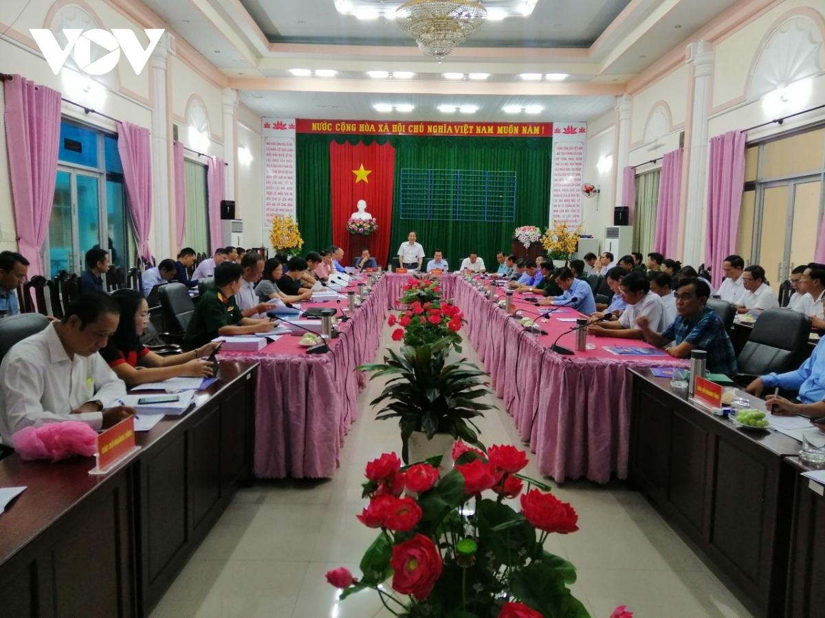 Đoàn công tác của Bộ Nội vụ làm việc tại Phú Quốc