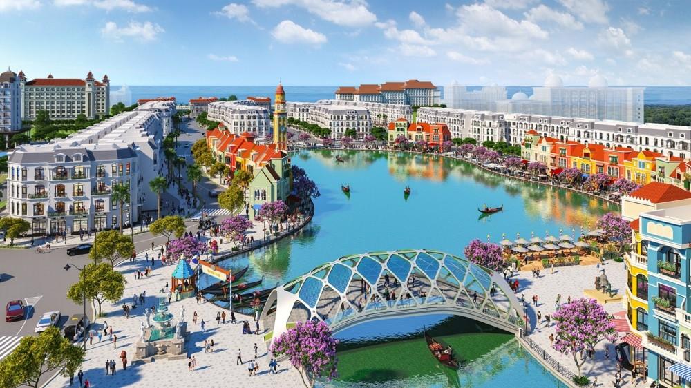 Grand World đang được các nhà đầu tư quan tâm bởi nằm trong hệ sinh thái nghỉ dưỡng – vui chơi giải trí – mua sắm tầm cỡ quốc tế