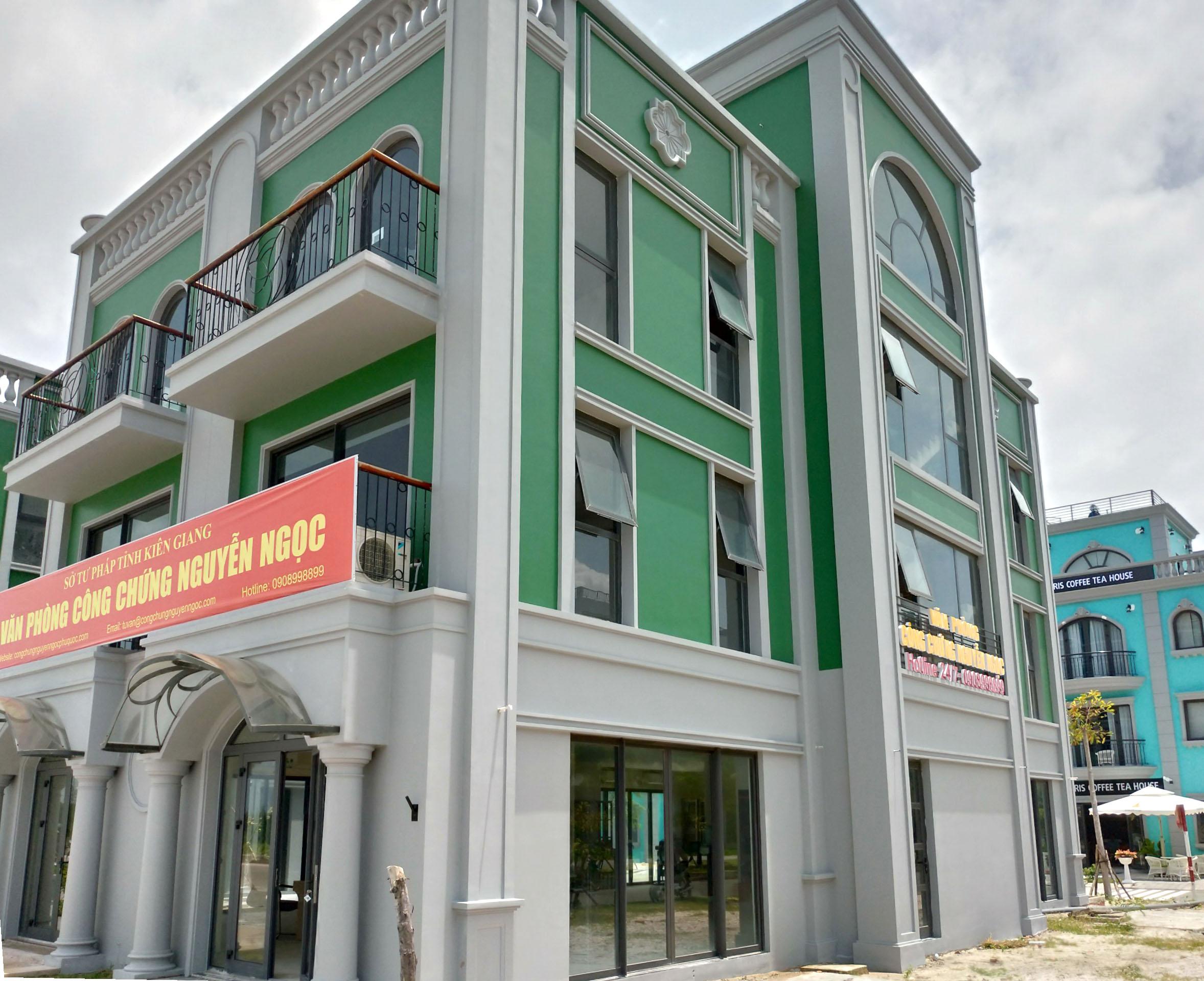 Trụ sở văn phòng công chứng Nguyễn Ngọc