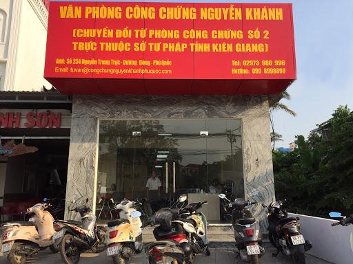 Hình ảnh trụ sở văn phòng công chứng Nguyễn Khánh