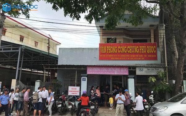 Văn phòng công chứng Phú Quốc