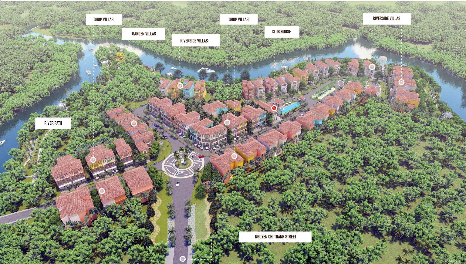Tổng quan dự án Royal Riverside Villas Phú Quốc