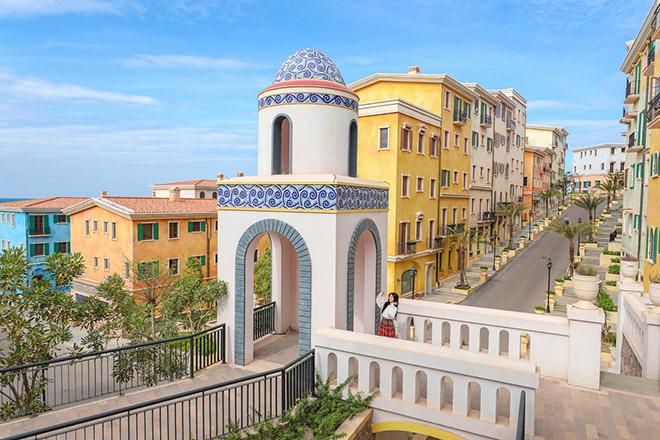 Thị trấn Địa Trung Hải phiên bản Việt đang được kiến tạo thành vùng đất đa sắc màu - vạn trải nghiệm - triệu cảm hứng.