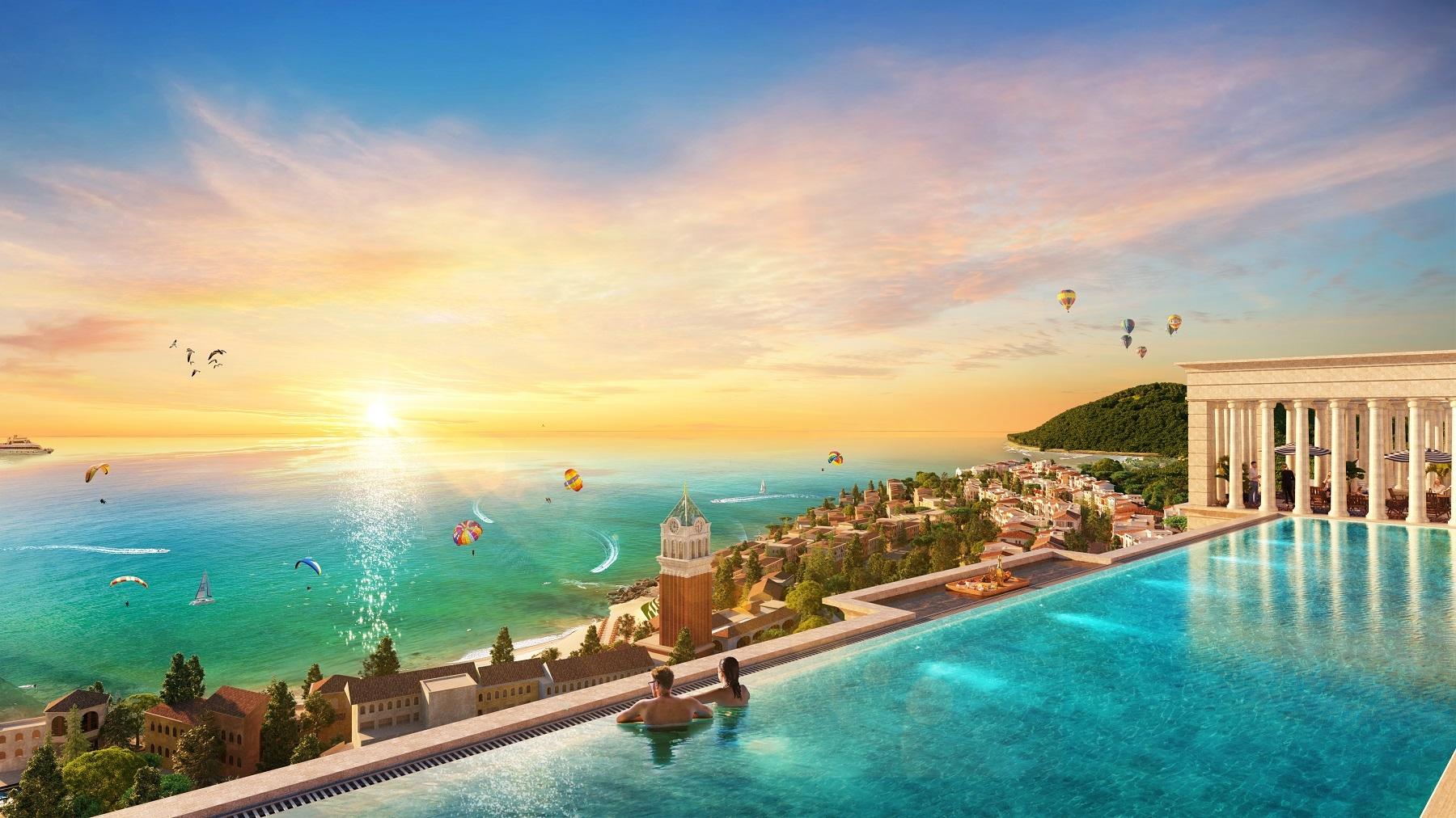 Sun Grand City Hillside Residence được kỳ vọng là dấu ấn khởi đầu cho TP Phú Quốc hiện đại, sáng rực rỡ bên bờ biển