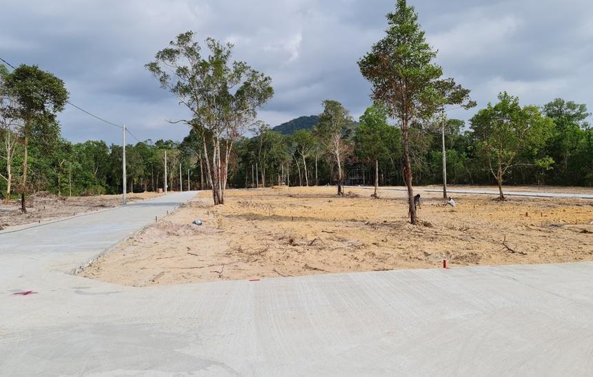 Khu đất phân lô bán nền tại xã Cửa Cạn