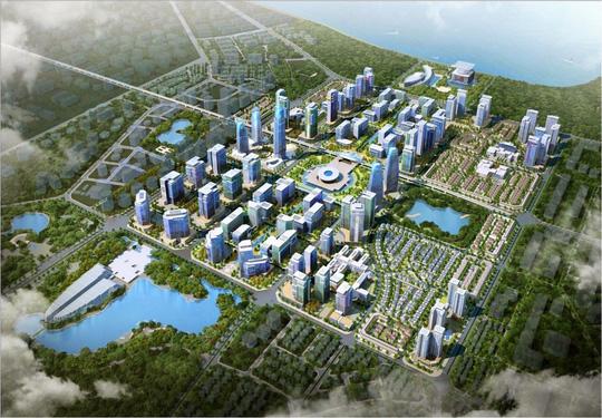 Tây Hồ Tây (Hà Nội) do Daewoo E&C đầu tư phát triển được đánh giá là điểm sáng trong quy hoạch không gian đô thị