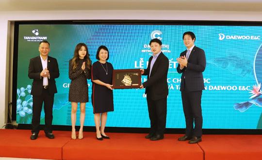 Tập đoàn Tân Á Đại Thành chính thức hợp tác với Daewoo E&C