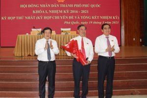 Thành phố Phú Quốc có Tân Chủ tịch và Phó Chủ tịch