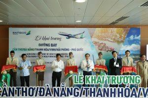 Hãng hàng không Bamboo Airways khai trương 8 đường bay kết nối Phú Quốc – Quy Nhơn