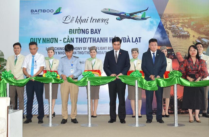 Bamboo Airways có mạng bay kết nối Quy Nhơn lớn nhất toàn ngành