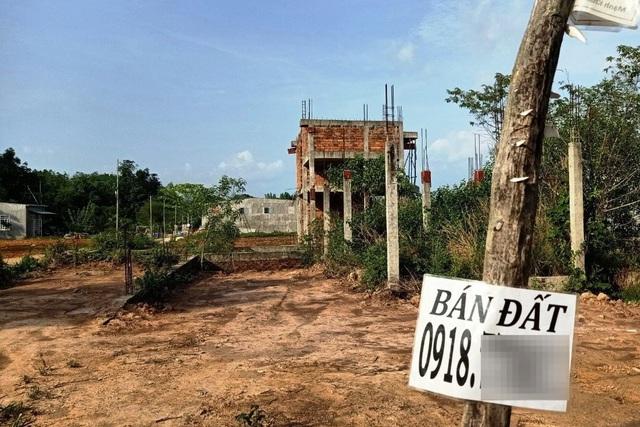 Nhiều dự án tự phát, xây dựng công trình sai pháp bị bỏ hoang