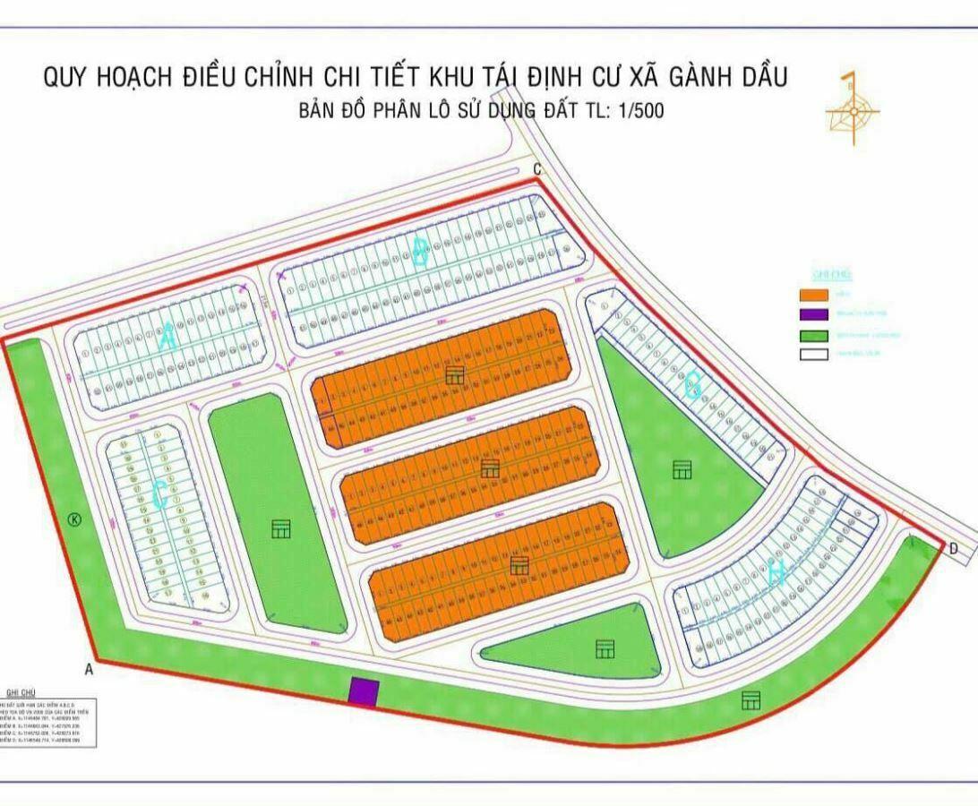 Khu tái định cư Gành Dầu - Phú Quốc