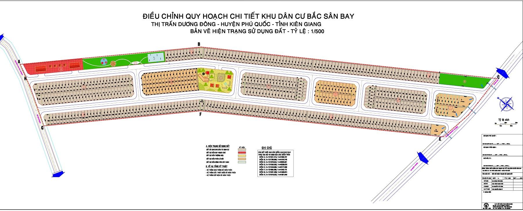 Khu tái định cư phố 10 Dương Đông Phú Quốc