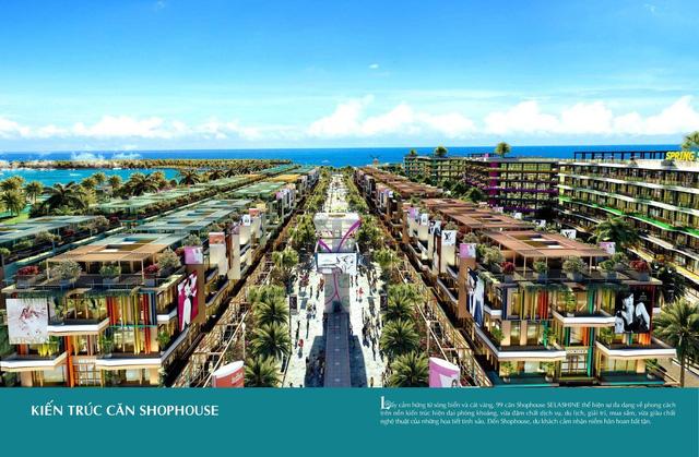 Hệ thống 99 căn Shophouse Selashine kề biển sở hữu vị trí đắc địa tại Phú Quốc