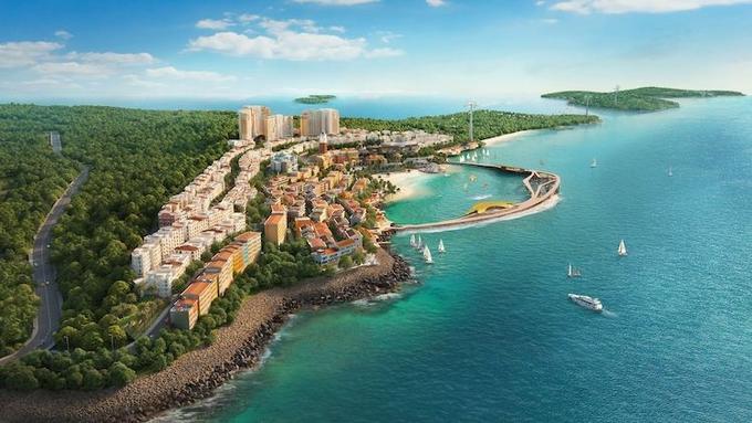 The Hill thuộc Sun Grand City Hillside Residence, 1 trong 3 mảnh ghép của thị trấn Địa Trung Hải bên bờ Nam Phú Quốc.