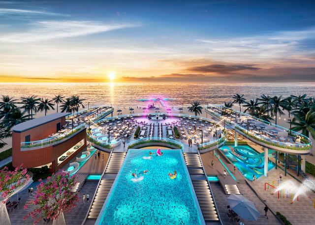 Tiện ích tại Long Beach Resort góp phần tạo nên nền tảng quan trọng để du lịch đảo ngọc cất cánh