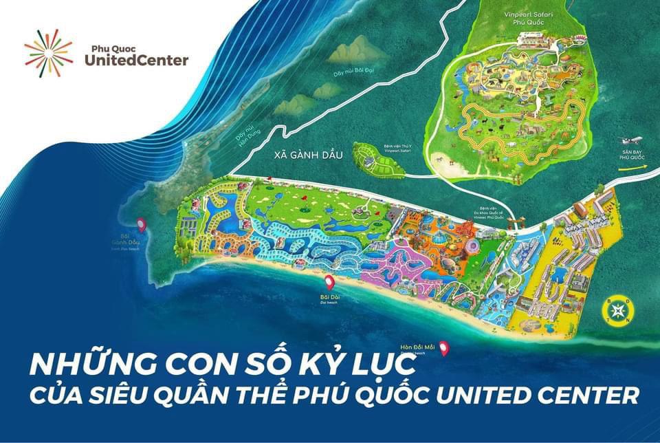 Bản đồ Phu Quoc United Center