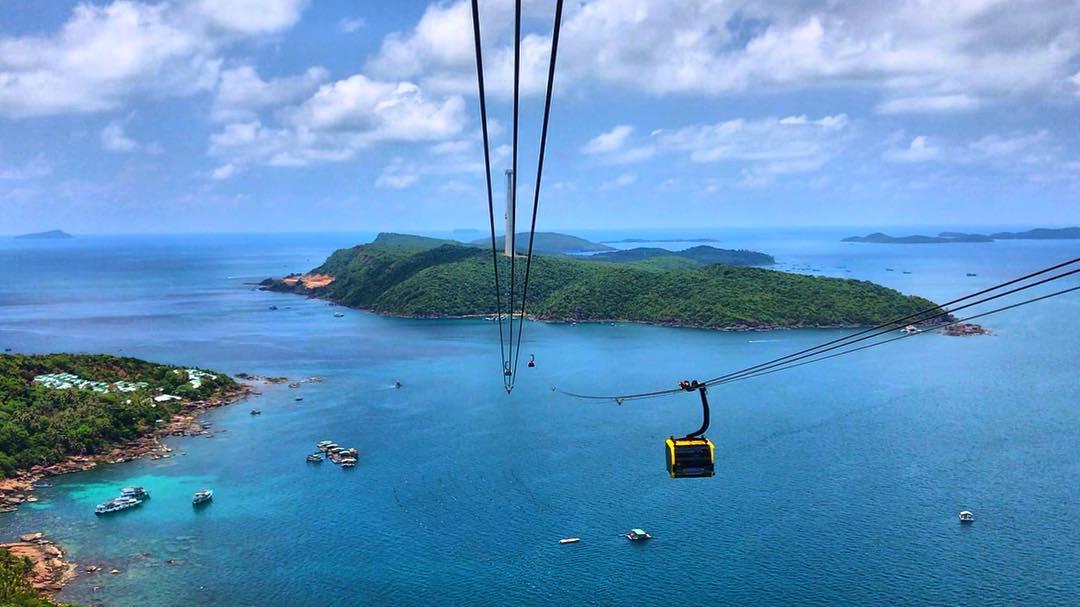 Du lịch cáp treo Phú Quốc tại Nam Đảo