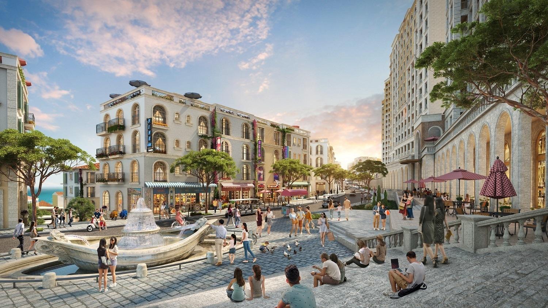 Shophouse The Center sẽ thu hút lượng khách khổng lồ đến với đảo Ngọc
