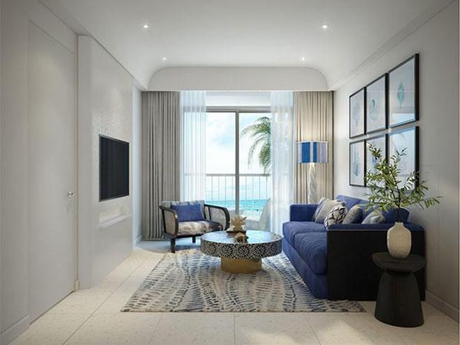 Căn hộ The Hill được bàn giao nội thất hoàn thiện với phong cách trang nhã
