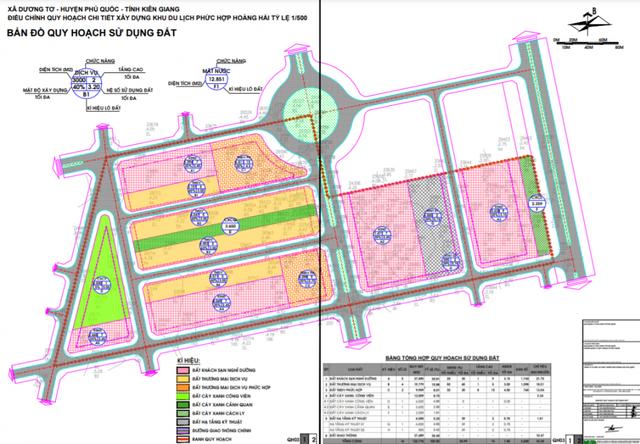 Quy hoạch dự án Hoàng Hải Complex tỷ lệ 1/500