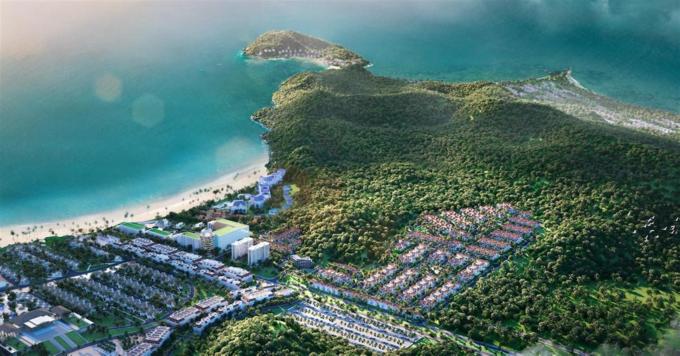 Phối cảnh dự án Sun Tropical Village của Tập đoàn Sun Group
