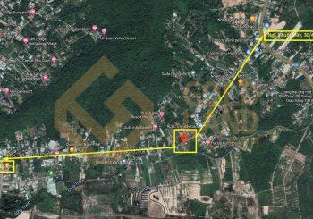 Bán đất mặt tiền Suối Mây, Dương Tơ, mặt tiền siêu đẹp – giá 2 tỷ 550 triệu