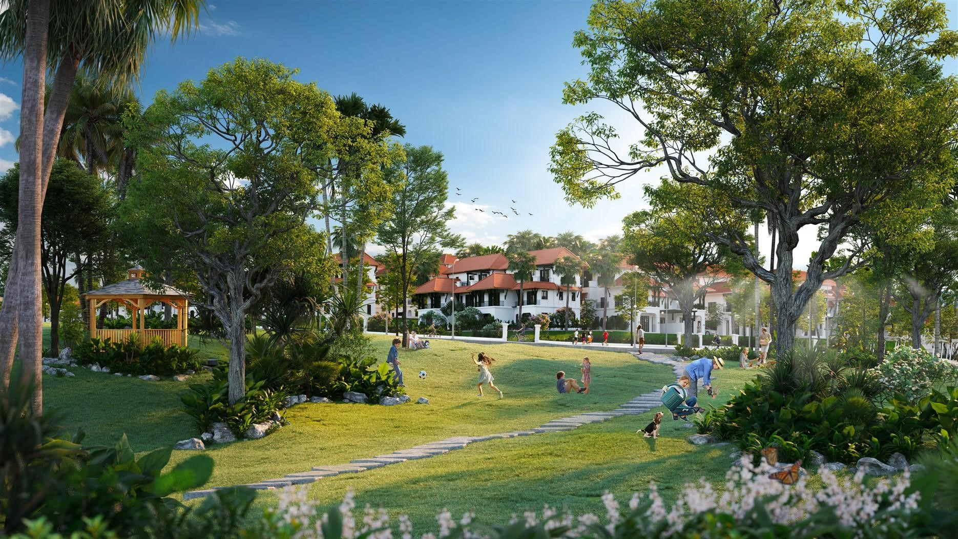 Hệ thống tiện ích wellness tại Sun Tropical Village tạo nên điểm nhấn ấn tượng